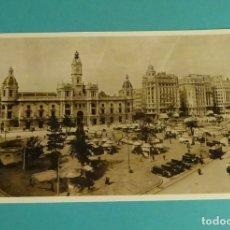 Postales: POSTAL REPRODUCCIÓN ACTUAL. PLAZA DEL AYUNTAMIENTO. VALENCIA 1930. Lote 171639273