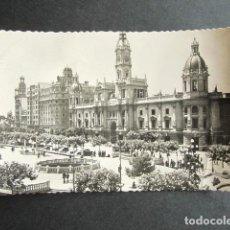 Cartes Postales: POSTAL VALENCIA. AYUNTAMIENTO. AÑO 1954. . Lote 171663202