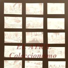 Postales: 20 CLICHES ORIGINALES - VALENCIA - NEGATIVOS EN CELULOIDE - EDICIONES ARRIBAS. Lote 171699274