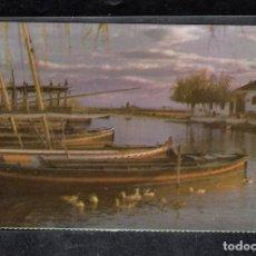 Postales: VALENCIA EL SALER. EMBARCADERO. Lote 172008764
