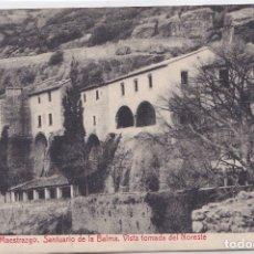 Postales: ZORITA DEL MAESTRAZGO (CASTELLON) SANTUARIO DE LA BALMA - VISTA TOMADA DEL NORESTE. Lote 172887692