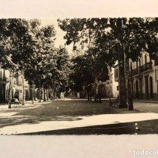 Postales: CARCAGENTE (VALENCIA) POSTAL FOTOGRAFÍCA. NO.31, PASEO DE LOS MÁRTIRES. FOTO VIDAL (H.1950?). Lote 173528283