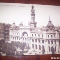 Postales: VALENCIA - CORREOS Y TELEGRAFOS. Lote 173882904