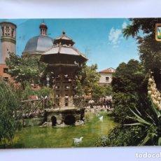 Postales: ALCOY (ALICANTE) POSTAL NO. 3, PARQUE PRIMO DE RIVERA. EDITA: A. SUBIRATS CASANOVA (A.1968). Lote 174029005