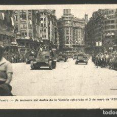 Postales: VALENCIA-DESFILE DE LA VICTORIA-TANQUETAS-FOT·QUINTANA-VER REVERSO-(61.591). Lote 174261808