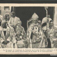 Postales: VALENCIA-EL ARZOBISPO DE VALENCIA-FOT·QUINTANA-VER REVERSO-(61.594). Lote 174261964