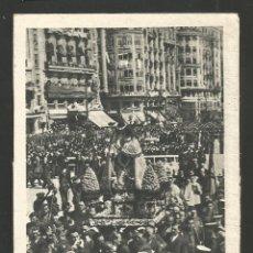 Postales: VALENCIA-LA VIRGEN DE LOS DESAMPARADOS-FOT·QUINTANA-VER REVERSO-(61.596). Lote 174262065