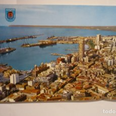 Postales: POSTAL ALICANTE - VISTA PARCIAL Y PUERTO . Lote 174359499