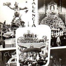 Postales: VALENCIA - VALENCIA EN FALLAS. Lote 174639352