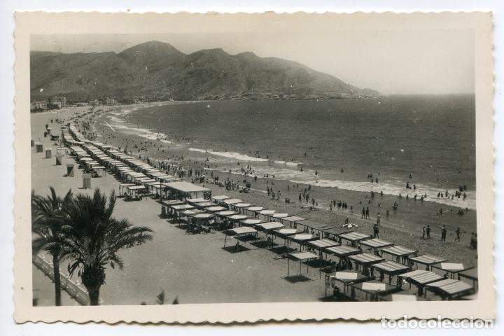 BENIDORM, ALICANTE, 326. PLAYA DE LEVANTE. EDICIONES ARRIBAS (Postales - España - Comunidad Valenciana Antigua (hasta 1939))