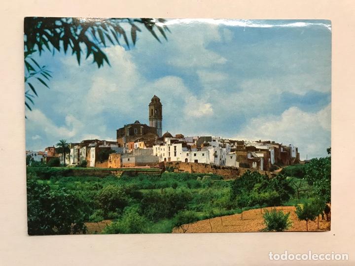 TRAIGUERA (CASTELLÓN) POSTAL VISTA PARCIAL. EDITA: FOTOGRAFÍA BARCELONA (A.1986) CIRCULADA.. (Postales - España - Comunidad Valenciana Moderna (desde 1940))