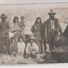 Postales: 15 JIJONA HÚNGAROS ALICANTE. ANDRES FABERT. SIN CIRCULAR POSTAL FOTOGRÁFICA. . Lote 175657138