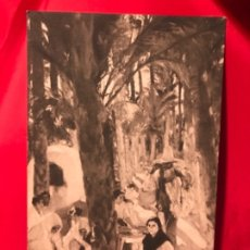 Postales: ANTIGUA POSTAL ELCHE ALICANTE EL PALMERAL JOAQUIN SOROLLA HISPANIC SOCIETY AMERICA HSA 1923 PERFECTA. Lote 175721415