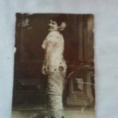 Postales: ANTIGUA CARTE POSTALE DE SEÑORA DE E. MERCIER DE LOS AÑOS 20- SELLADA EN CORREDERA 4 DE ORIHUELA. Lote 175862653