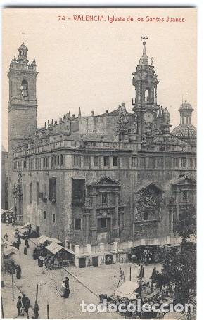 VALENCIA. IGLESIA DE LOS SANTOS JUANES (Postales - España - Comunidad Valenciana Antigua (hasta 1939))