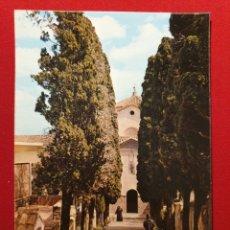 Postales: 1 - DESIERTO DE LAS PALMAS (BENICASSIM CASTELLON) - ENTRADA MONASTERIO - ED MONASTERIO 1973. Lote 176307332