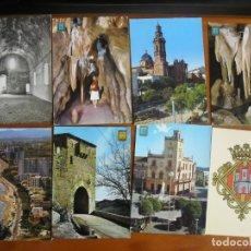 Postales: LOTE DE 28 POSTALES DE CASTELLON AÑOS 60 Y 70 - TODAS DISTINTAS - ENVIO GRATIS - VER FOTOS. Lote 176424244