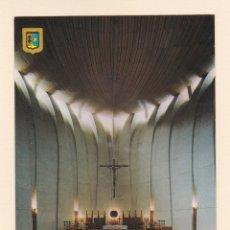 Postales: POSTAL INTERIOR IGLESIA PARROQUIAL DEL PUERTO. JAVEA. ALICANTE (1977). Lote 176575729