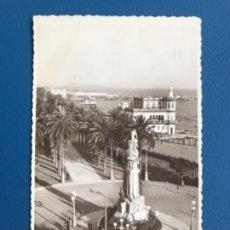 Postales: ALICANTE FOTOGRAFICA 118 MONUMENTO A CANALEJAS 1952 ARRIBAS SELLO CALDERON DE LA BARCA . Lote 177054917