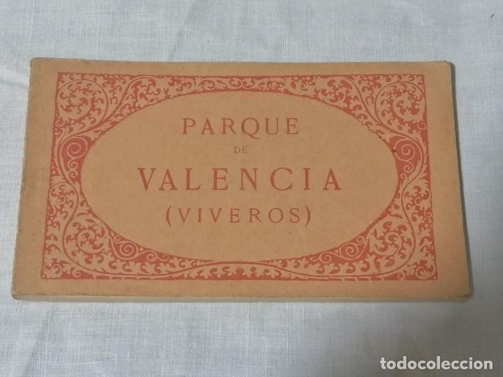 ANTIGUO LIBRO DE POSTALES DE VIVEROS VALENCIA SIN USAR (Postales - España - Comunidad Valenciana Antigua (hasta 1939))