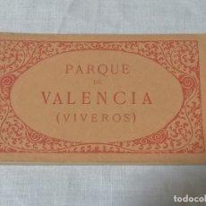 Postales: ANTIGUO LIBRO DE POSTALES DE VIVEROS VALENCIA SIN USAR. Lote 177075443