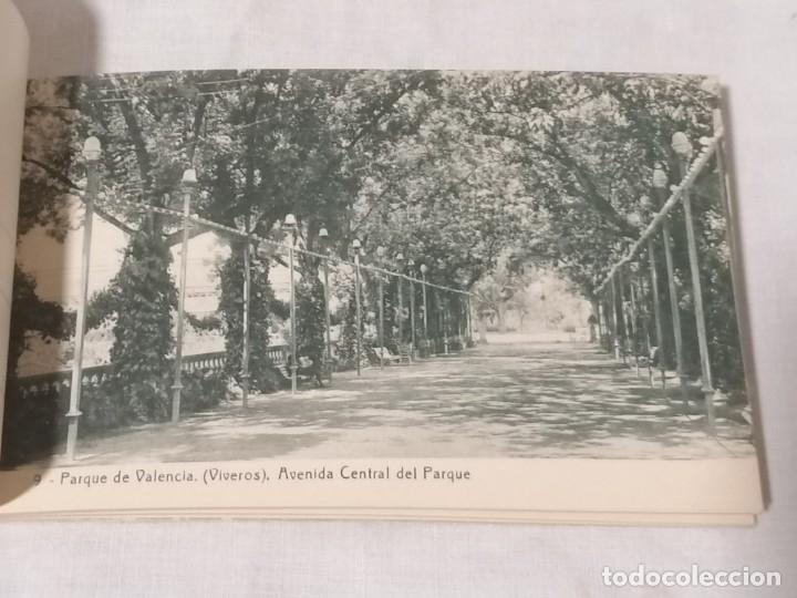 Postales: Antiguo libro de postales de viveros Valencia sin usar - Foto 3 - 177075443