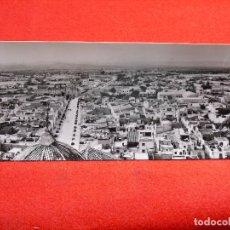 Postales: BENICARLÓ.VISTA GENERAL Nº 1. POSTAL PANORÁMICA DOBLE.AÑOS 50.. Lote 177706202
