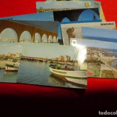 Postales: BENICARLÓ.LOTE DE 11 POSTALES. AÑOS 60 - 70 - 80.. Lote 177707037