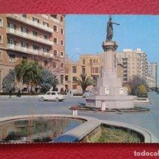 Postales: ANTIGUA TARJETA POSTAL POST CARD CASTELLÓN MONUMENTO A D. JAIME EL CONQUISTADOR CITROEN 2 CV VESPA... Lote 178173495
