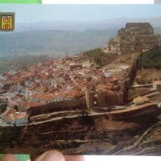 Postales: POSTAL MORELLA CASTELLON VISTA AEREA 1985 ESCRITA Y SELLADA. Lote 178809616