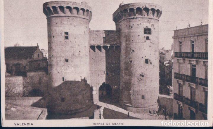 POSTAL VALENCIA TORRES DE CUARTE - JDP (Postales - España - Comunidad Valenciana Antigua (hasta 1939))