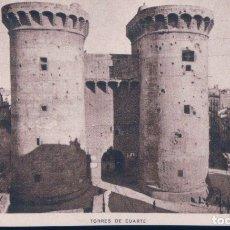Postales: POSTAL VALENCIA TORRES DE CUARTE - JDP. Lote 179001430