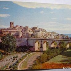 Postales: POSTAL VILLAJOYOSA.-MURALLAS Y PUEBLO ESCRITA. Lote 179075993
