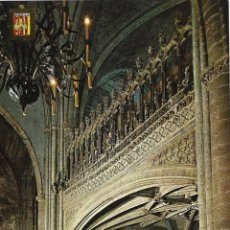 Postales: MORELLA (CASTELLON) ESCALERA Y CORO IGLESIA ARCIPRESTAL - ESCUDO DE ORO Nº 8 - S/C. Lote 179091142