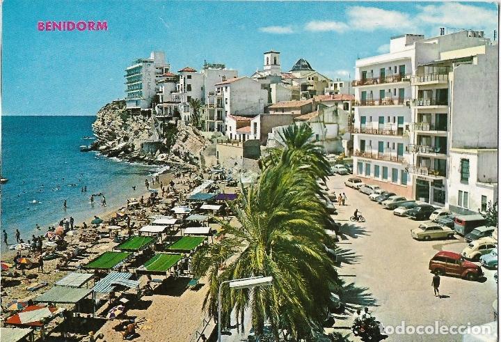 BENIDORM (ALICANTE) VISTA PARCIAL CASTILLO - HNOS. GALIANA Nº 13 - ESCRITA (Postales - España - Comunidad Valenciana Moderna (desde 1940))