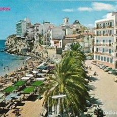 Postales: BENIDORM (ALICANTE) VISTA PARCIAL CASTILLO - HNOS. GALIANA Nº 13 - ESCRITA. Lote 179092645