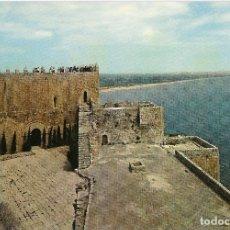 Postales: PEÑISCOLA (CASTELLÓN) CASTILLO, PATIO DE ARMAS - ESCUDO DE ORO Nº 1 - S/C. Lote 179092855