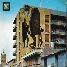 Postales: BENICASIM (CASTELLON) CALLE BAYER - ESCUDO DE ORO Nº 22 - CIRCULADA. Lote 179093855