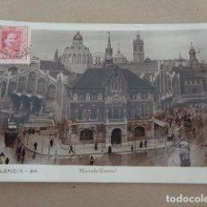 Postales: VALENCIA. 1930. POSTAL ESCRITA EN ESPERANTO. F. MORENO ALCOCER. DIRIGIDA A LONDRES. Lote 179236337