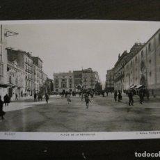 Postales: ALCOY-PLAZA DE LA REPUBLICA-3-FOTOGRAFICA ROISIN-VER FOTOS-(63.115). Lote 179264343