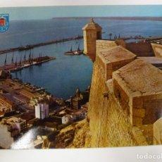 Postales: POSTAL. 5. ALICANTE. VISTA DEL PUERTO DESDE EL CASTILLO. ED. E Y G AYALA. NO ESCRITA. . Lote 179376882