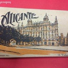 Postales: 14 VISTAS ALICANTE BLOC DE POSTALES ACORDEON ROISIN. Lote 179537962