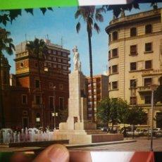 Postales: POSTAL CASTELLON DE LA PLANA PLAZA DE MARIA AGUSTINA ESCRITA. Lote 180117876