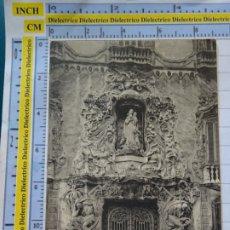 Postales: POSTAL DE VALENCIA. FECHADA AÑO 1911 EN CABAÑAL. PORTADA PALACIO DE DOS AGUAS. 23 CRUMIERE. 591. Lote 180140140