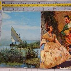 Postales: POSTAL DE VALENCIA. AÑO 1972. TIPISMO VALENCIANO ALBUFERA. 600. Lote 180140907