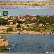 Postales: POSTAL DE VALENCIA. AÑO 1967. GANDÍA, PLAYA DEL PUERTO. 604. Lote 180141033