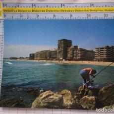 Postales: POSTAL DE VALENCIA. AÑO 1986. EL PERELLO PLAYA. PESCADOR, 612. Lote 180141455