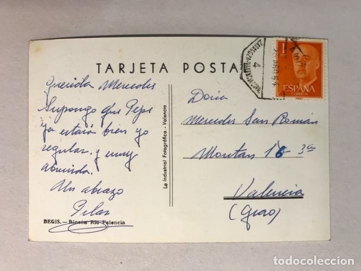 Postales: BEGIS (Castellón) Postal Fotografíca, Rincón Río Palancia. Edita: La Industrial Fotografíca - Foto 2 - 180237531