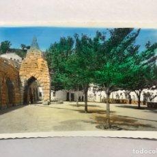 Postales: BENASAL (CASTELLÓN) POSTAL COLOREADA NO.26, (FUENTE EN SEGURES) GRUTA Y PLAZA. EDITA: ED. A. MACHI. Lote 180239715