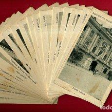 Postales: LOTE DE 34 POSTALES VALENCIA, REGIMIENTO MILITAR ZAPADORES Nº 3 , VER FOTOS, ORIGINALES. Lote 180259821